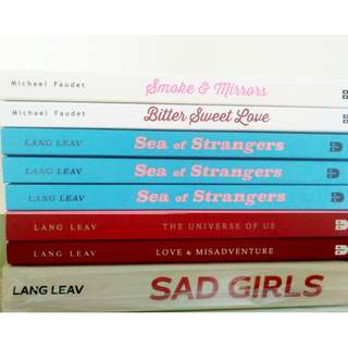 BRAND NEW BOOK Lang Leav and Michael Faudet
