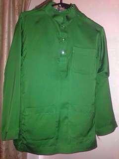 Baju Melayu Preloved Emerald Green🆓Postage
