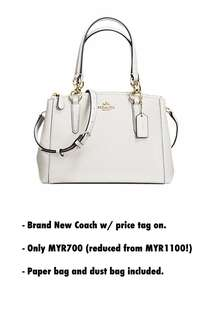 Coach Bag Christie Carryall