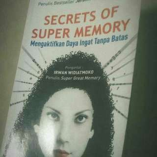 Secrets of Super Memory (Eran Katz)