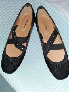 Kitten flat shoes ballerina black by Something Borrowed NEW