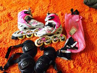 Adjustable Rollerblades Girls Size 34-37