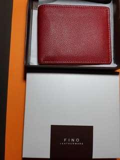 FINO Bi-fols Leather Wallet
