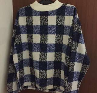 韓 微高領毛衣