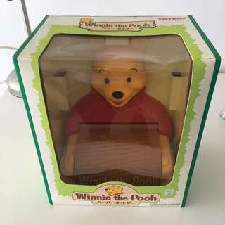 Winnie the Pooh toilet paper roll holder