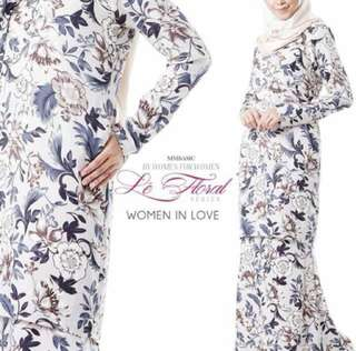 [Sale] Baju kurung with nursing zipper