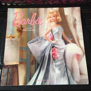 Barbie fashion book calendar