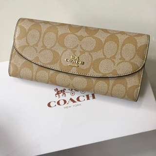 Coach Black Multipurpose Wallet