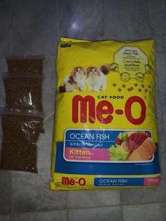 Makanan Kucing MeO - Me-O - Me O Kitten Ocean Fish 400gr Repack