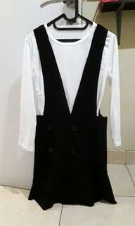 Dress + dpt inner(dalaman) 3067