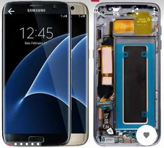 Looking for spoiled Samsung galaxy s7 edge with working lcd