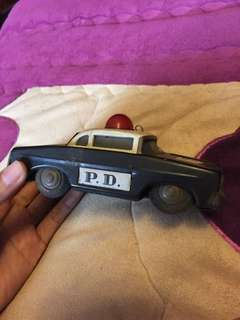 Police dept tin toys