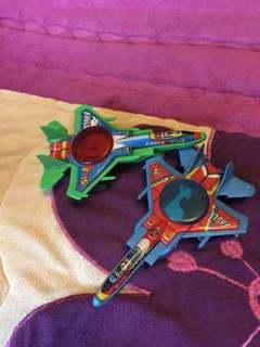 Jet tin toys