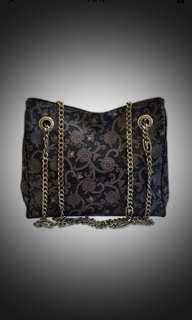 Trussardi Paisley Chain Bag