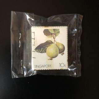 Stamp - Singapore 1986 - Local Fruits (100 pieces)