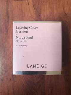 Laneige BB Layering Cover Cushion No.23 sand