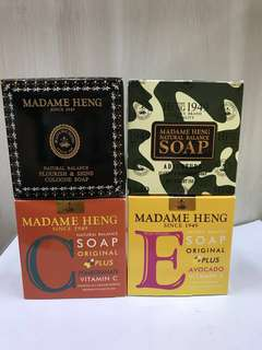 Madame Heng Soap