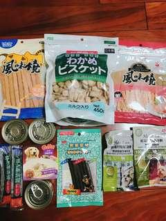 狗狗零食罐頭組合包