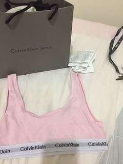 Calvin Klein (Ck) crop bralette