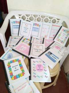 PERSONALIZED WORKBOOK FOR KIDS