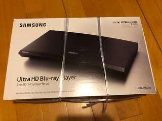 100%全新未開盒 SAMSUNG 4K UHD 藍光影碟播放機 UBD-M8500