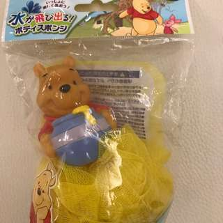 日本正版小熊維尼沐浴波Winnie the Pooh
