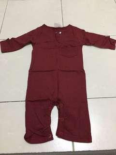 Baby romper baju melayu