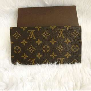 Authentic Louis Vuitton check book holder