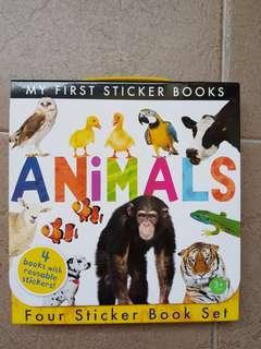 My First Sticker Books