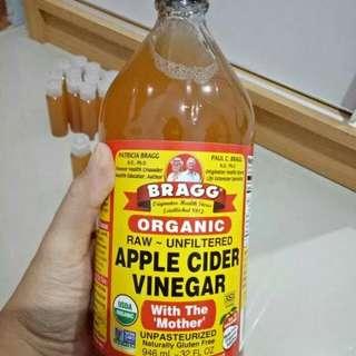 Toner cuka apel / apple cider bragg vinegar 60ml / toner jerawat & beruntusan / toner wajah