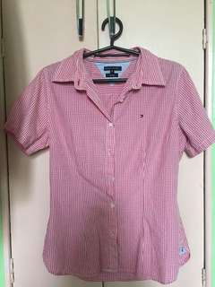 Tommy Hilfiger Gingham Polo