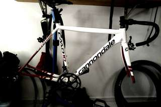 Cannondale caad 10 frameset. Looking to trade.