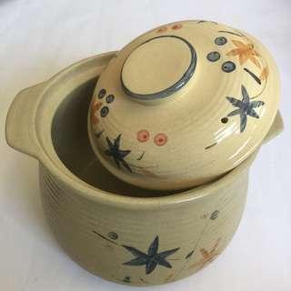 """Casserole Earthen Ware 9 1/2"""" Pot (Donabe)"""