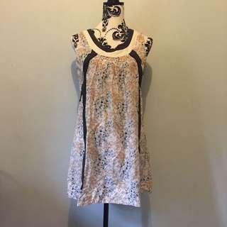 Floral Long top/ short dress