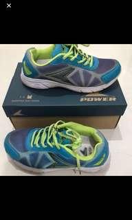 Bata Power Running Shoes Yellow/Turquoise