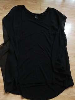 H&M black sleeveless