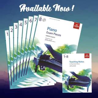 Piano Exam Syllabus ABRSM Publications 2019 & 2020