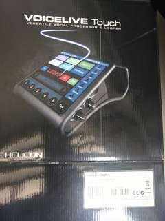 TC. Helicon Voicelive Touch (Vocal Processor & Looper)