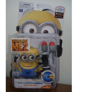 Despicable Me 2 Minions - Dave with Rocket Launcher Brand New MOC