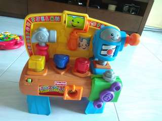 Fisher price worktable