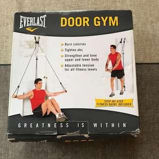REPRICED Door gym - resistance bands
