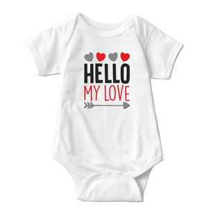 Baby Statement Onesies - Hello My Love