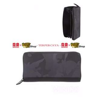 Japan Quality - Dompet Pria Army Miniso Import Long Army Wallet Men