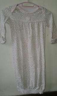 Baby dress w/Mittens