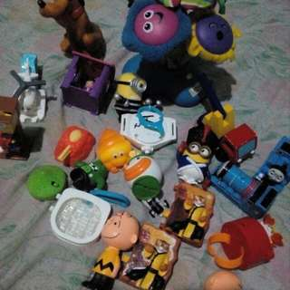 Preloved Toys for TAKE ALL ONLY!