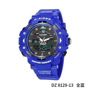 Jam Tangan Mewah Murah D-ZINER 8129 Grade Original NEW Watch