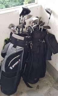 2 Golf Sets (total 25 pcs)