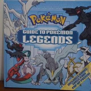 Pokemon - Guide to Pokemon Legends Book (Hardbound)