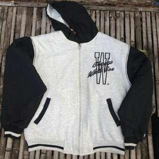Jaket/hoodie STARTER white SOX bolak-balik