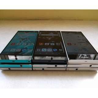 """Fujitsu Arrows NX F-04G_World's 1st Iris Phone5.2"""" WQHD IPS"""
